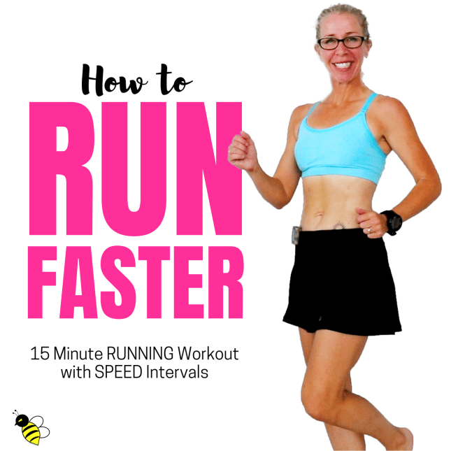 GET FASTER _ 15 Minute Indoor RUN with SPEED Intervals Let's RUN Podcast with Pahla B