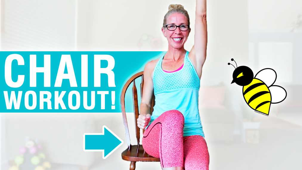 20 Minute Total Body SEATED Workout (includes Warm Up!)
