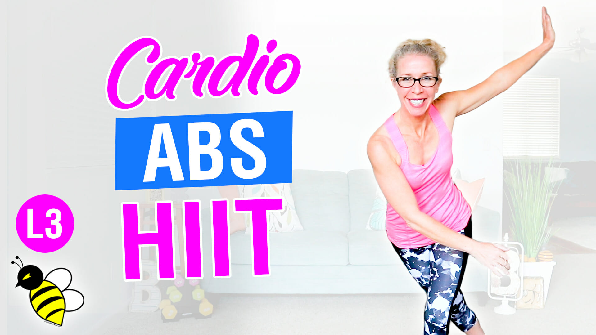 30 minute all standing CARDIO ABS HIIT workout