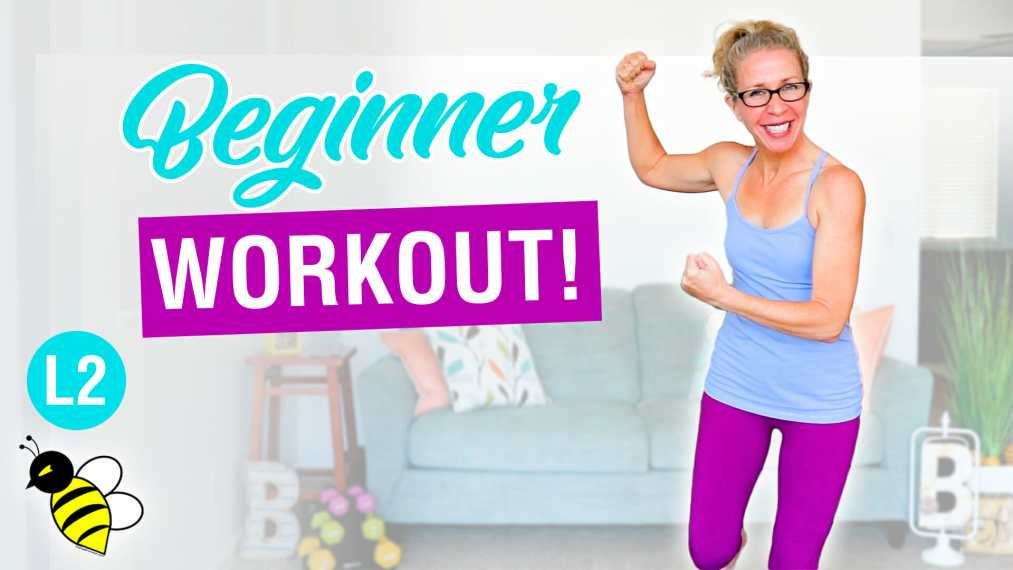 40 minute BODYWEIGHT STRENGTH for beginners no squats all standing