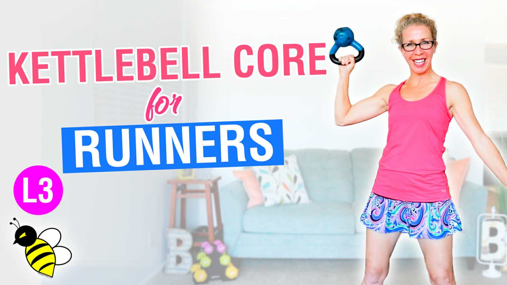 PR STRONG Killer Kettlebell CORE STRENGTH for RUNNERS