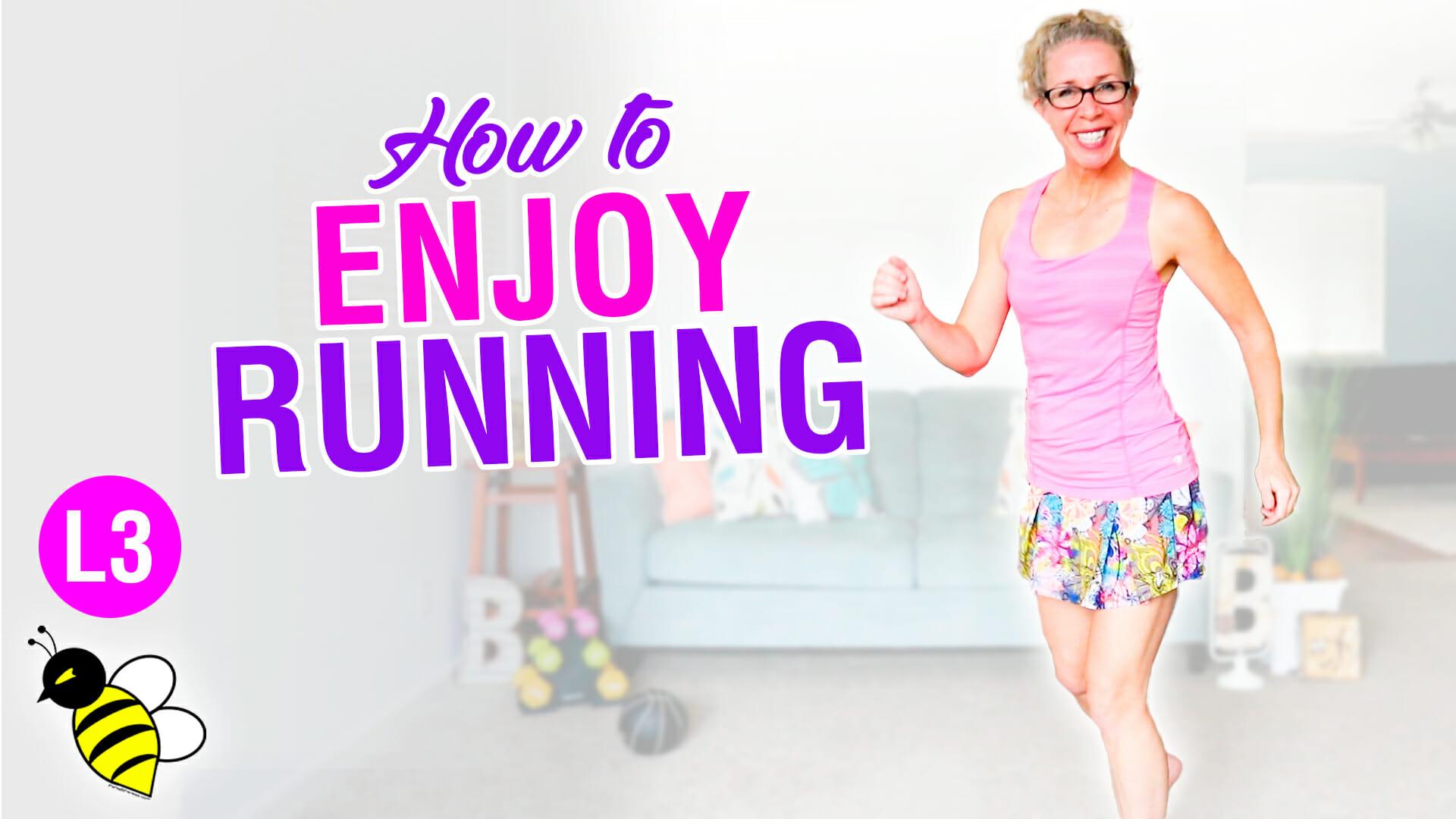 How to ENJOY RUNNING 15 minute indoor run