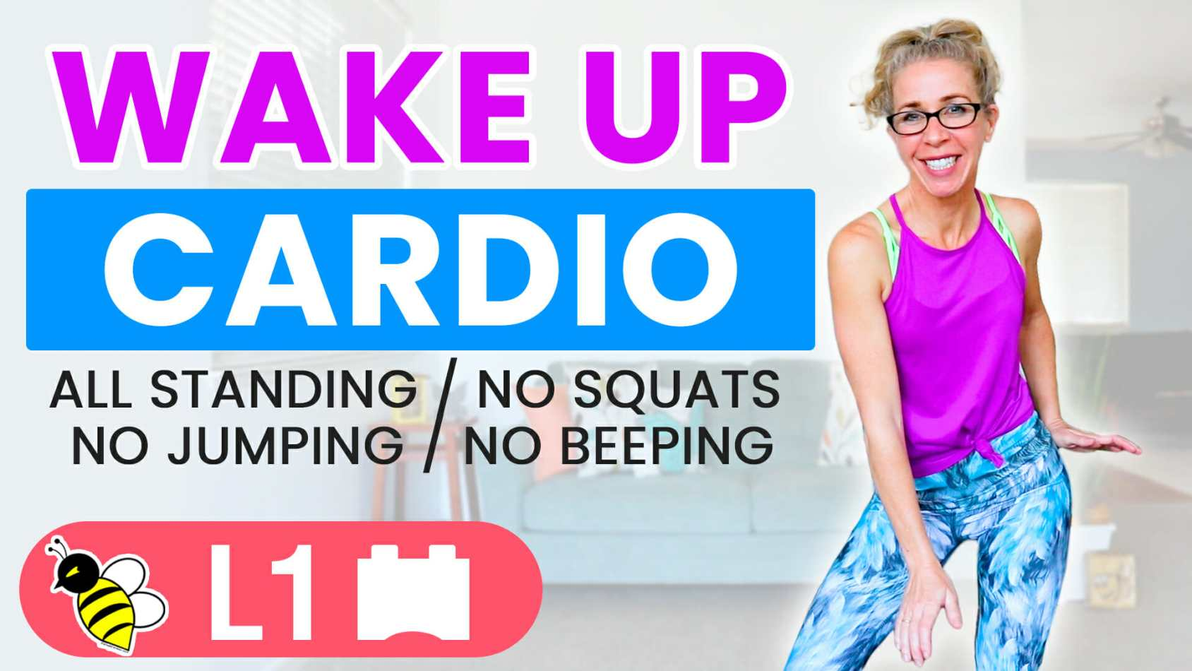 Wake up CARDIO 10 minute LOW IMPACT start to your day