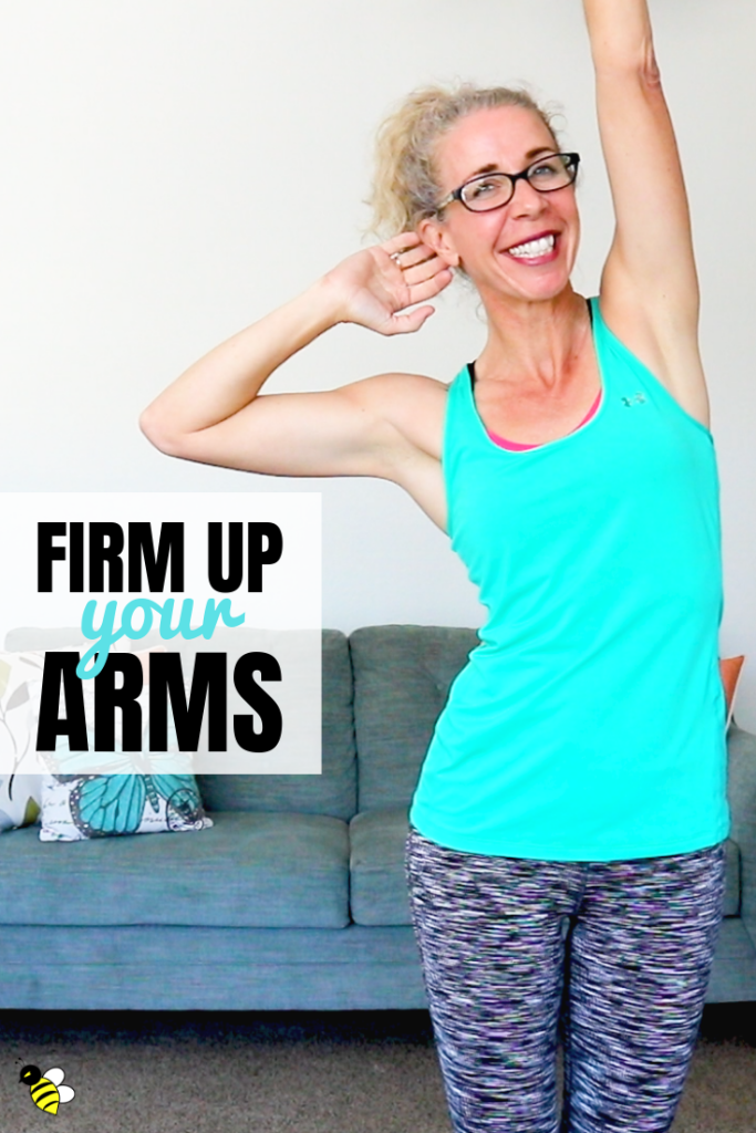 Firm your arms FAST with this 5-minute, no equipment FIX workout.  With just a handful of exercises, we're shaping, firming and toning your arms - and getting in some bonus abs, too!