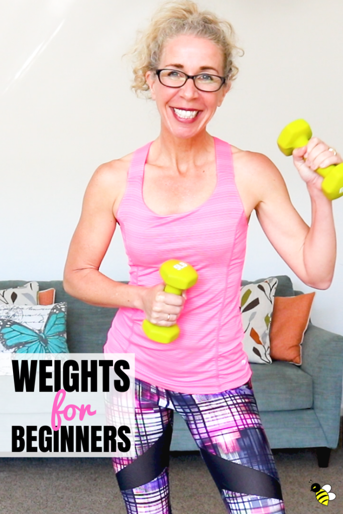 Grab your dumbbells and let's get STRONG with a gently-paced (but oh, so sweaty!) WEIGHTS workout that's great for beginners and beyond.