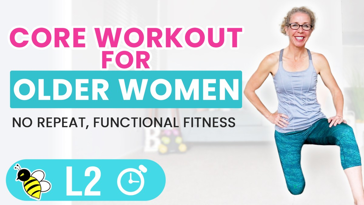 Empowering Core Workout for Older Women | 5 Minute Friday FIX
