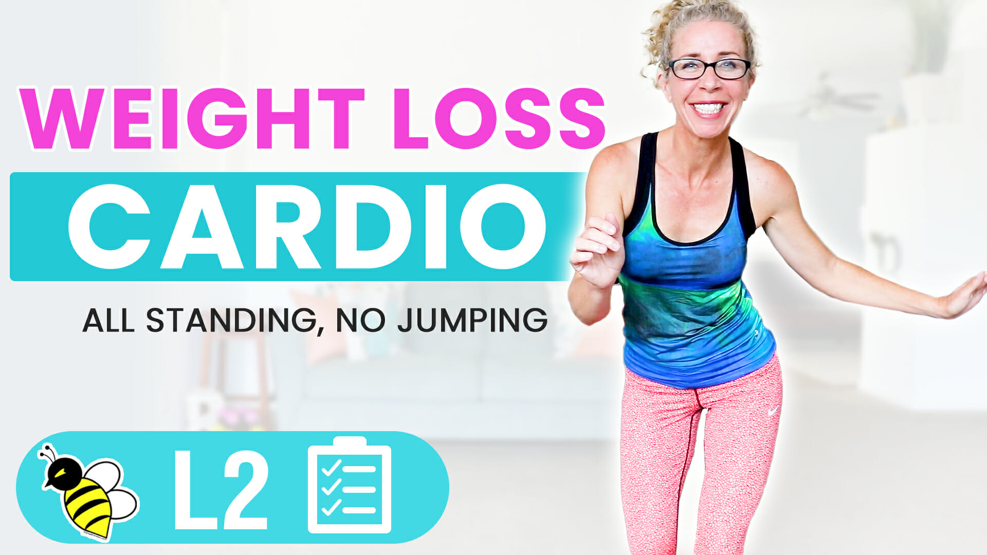 25 Minute Low Impact WEIGHT LOSS Cardio for Women Over 50