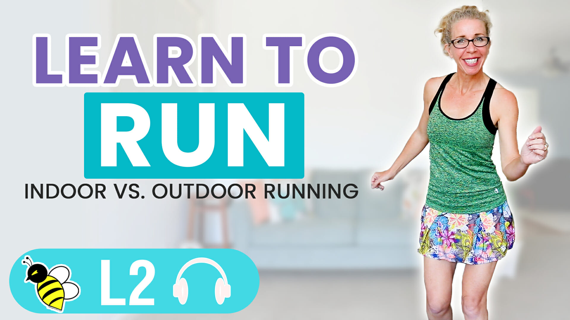 Learn to RUN with Pahla B Running INDOORS vs OUTDOORS