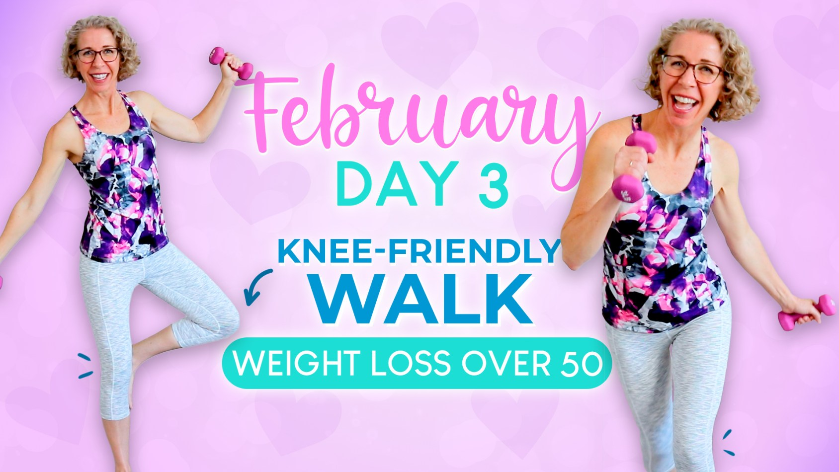 Knee-Friendly WALK with WEIGHTS to Get Trim + Toned ???? Pahla B Fitness