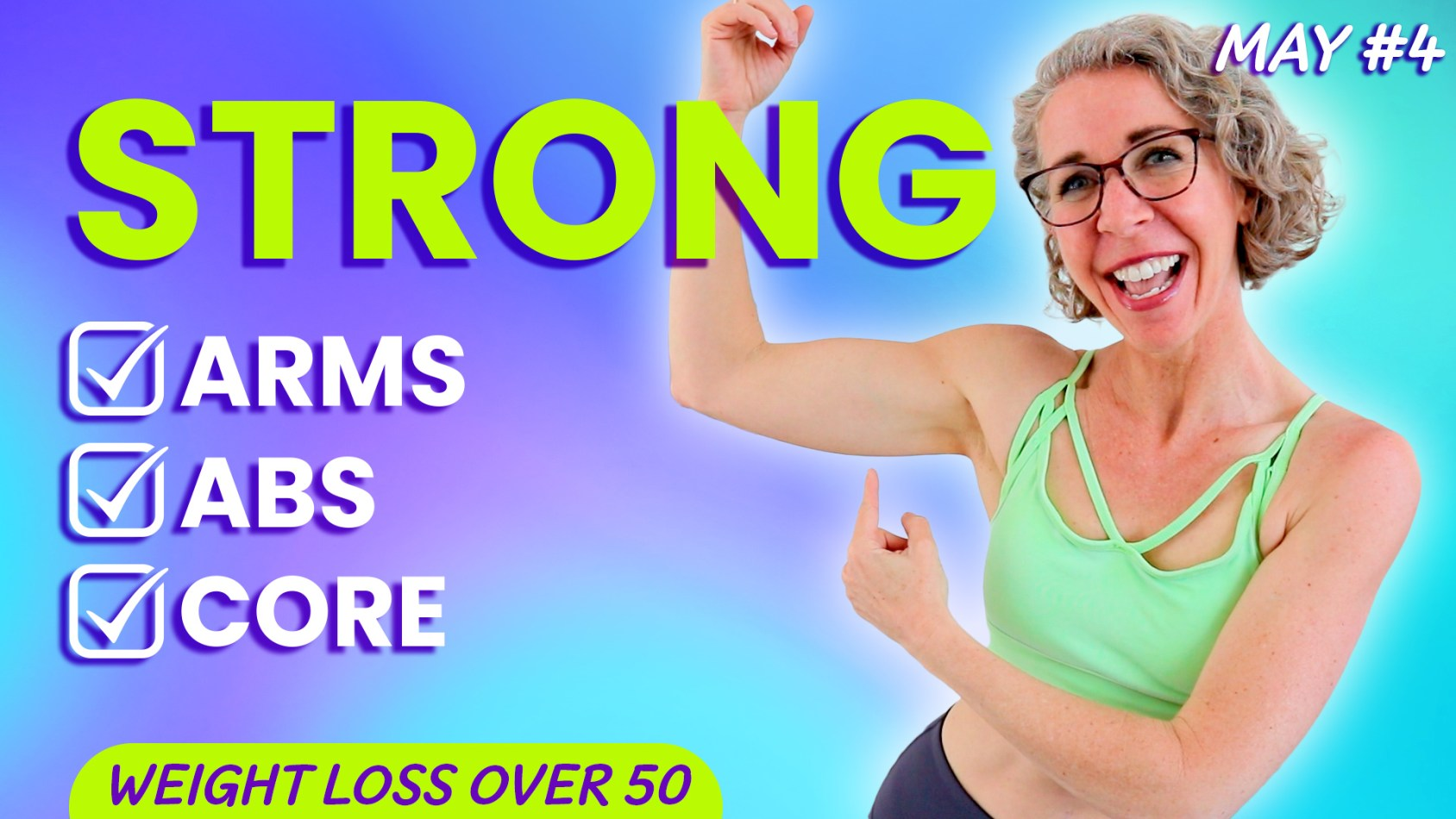 ARM TONING WALK for Women over 50, No Equipment Needed! ???? MAY 4