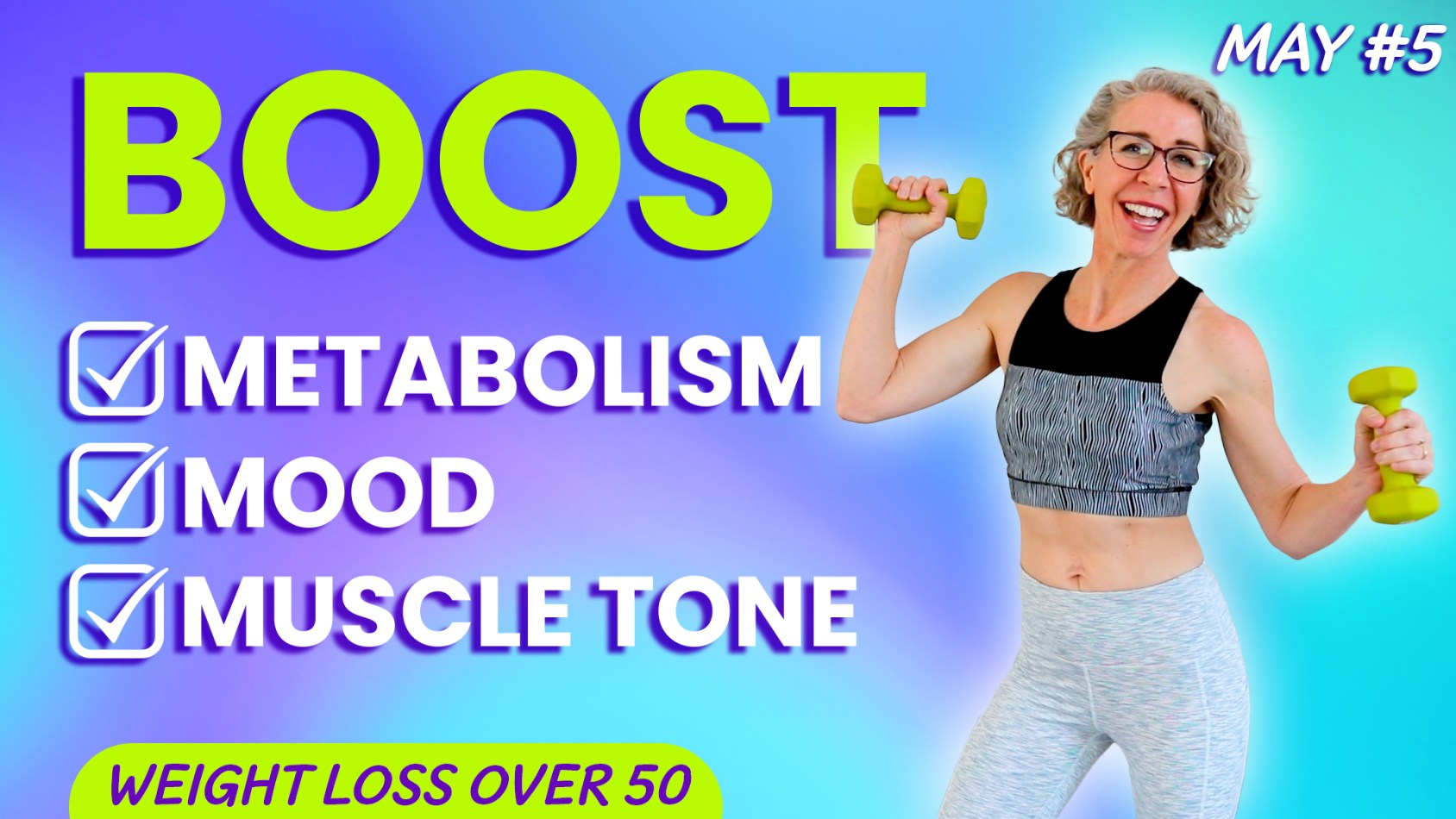 Full Body Fat Loss Routine, CARDIO + WEIGHTS at Home! ???? MAY 5