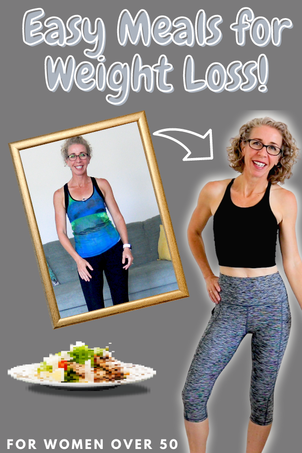 The more you keep things simple, the easier is to lose weight.  These four meals are some of the easiest (and most delicious) things I make!