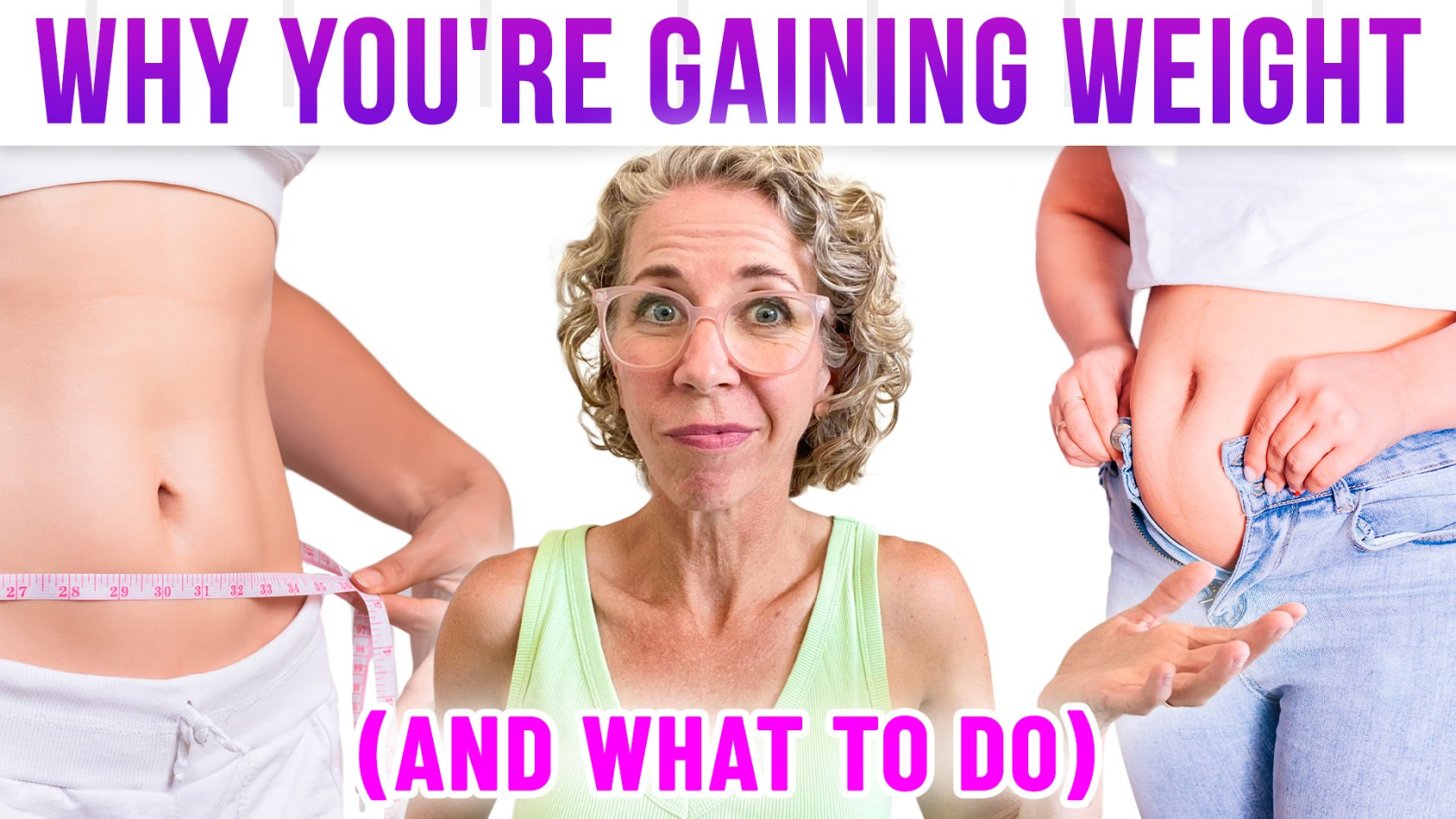 Why Women GAIN WEIGHT over 50 (and how to STOP IT!)