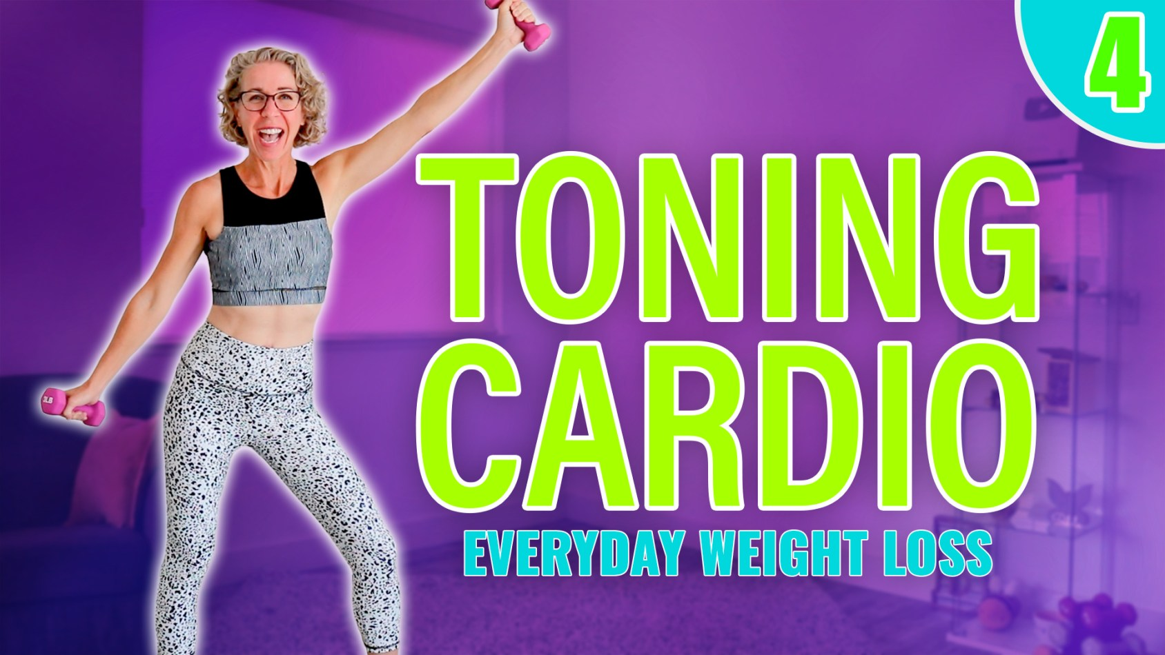 4️⃣ Time Saver Workout over 50! Cardio & Toning ALL-in-One