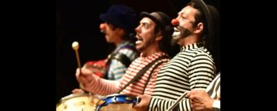 Grupo Artetude (DF) no Festival de Circo do Brasil no Recife. / Divulgação.