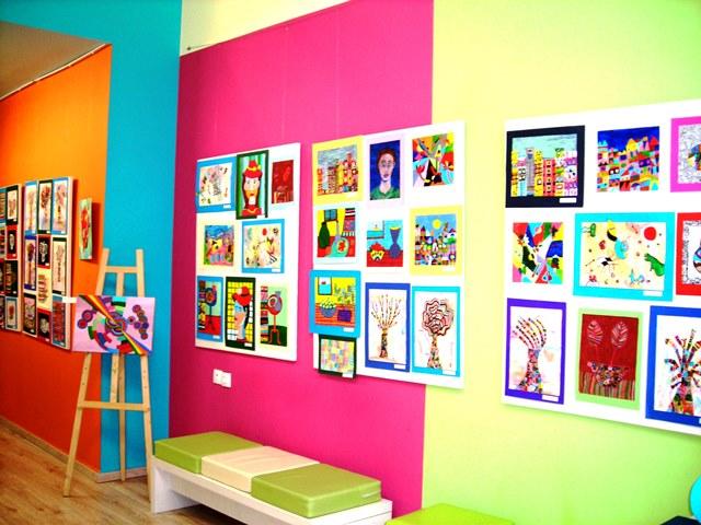 Έκθεση ζωγραφικής, εργαστήρι παιδικής τέχνης