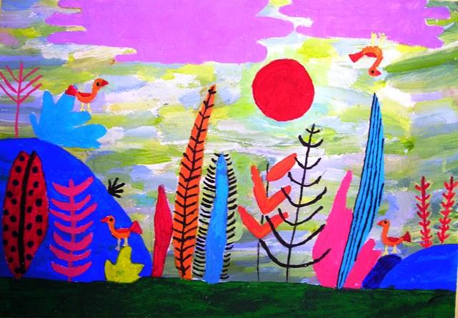 παιδική ζωγραφική, παιδικές δραστηριότητες, Σάββατο, Λάρισα