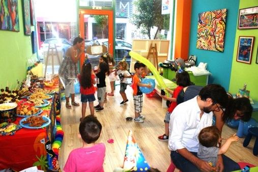 παιδικά πάρτι, παιδική τέχνη