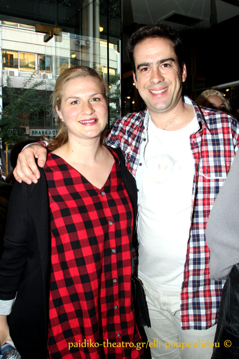 Αλμπέρτο Φάις με τη σύζυγό του,Γιάννα Παπαγεωργίου