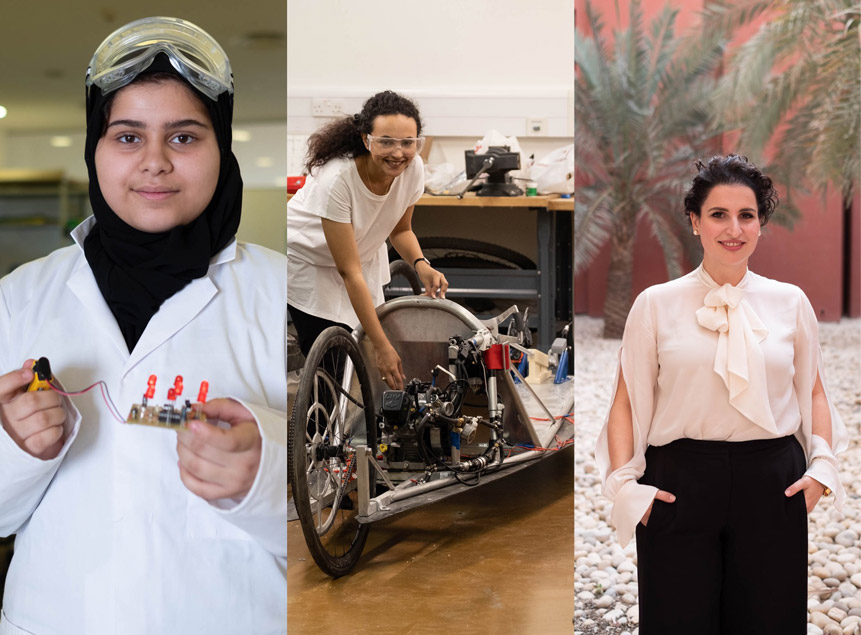 Arab women are thriving in science and math