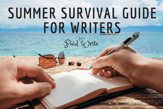 SUMMER SURVIVAL GUIDE FOR WRITERS
