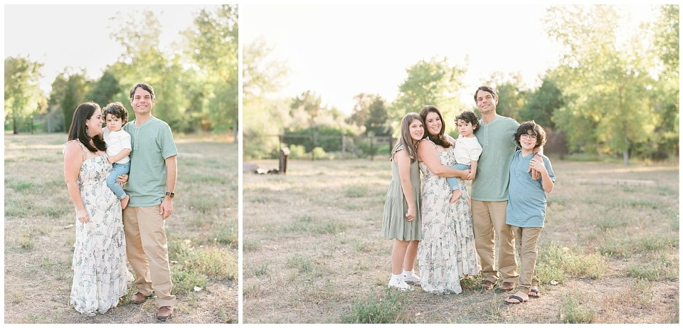 Outdoor family photography