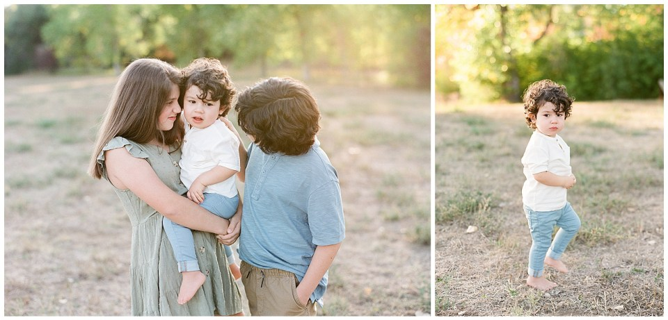 three siblings family photography