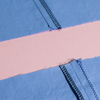 Serged Seam Finishing
