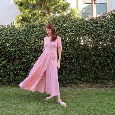 New Pink Dress – McCall's 7974