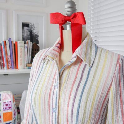 Candy Stripe Dress – Simplicity 8546