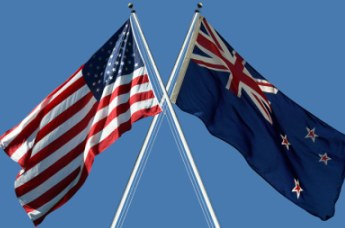 Image result for american and new zealand flag