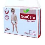 NEO CARE SMALL BABY DIAPER 3-6 KG 25PCS