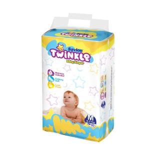 Savlon Twinkle Baby Diaper (Up to 8kg/44pcs) [Get 1 Savlon Twinkle Baby Dia