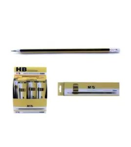 M&G AWP30871 Wooden Pencil with Eraser