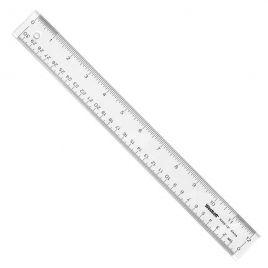 Plastic Ruler, 12 inch