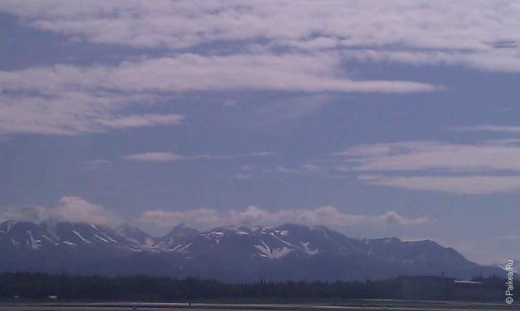 анкоридж, горы аляски