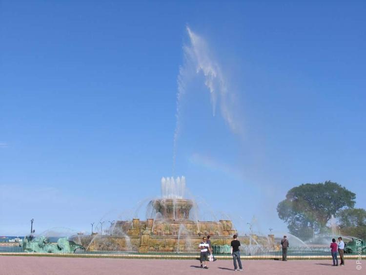 большой фонтан в чикаго