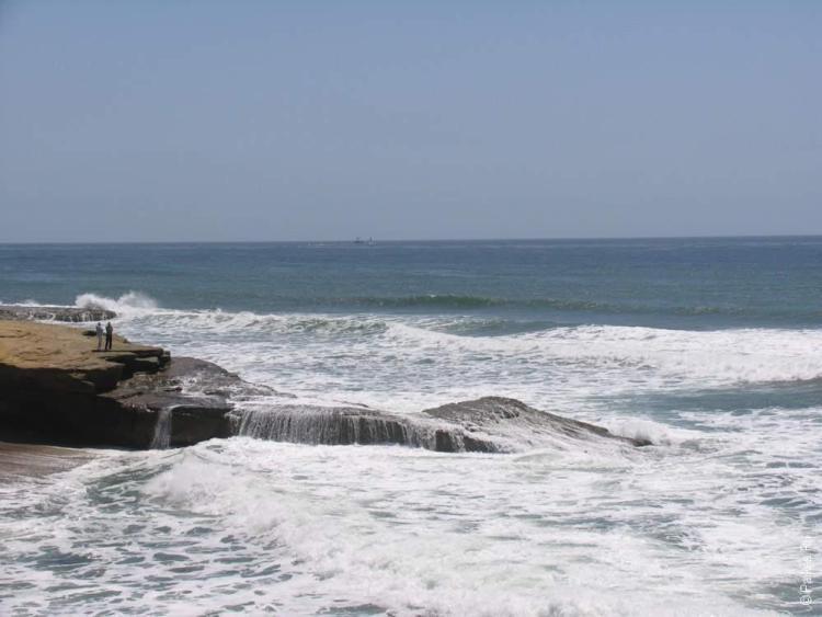 Тихий океан в Сан-Диего, США