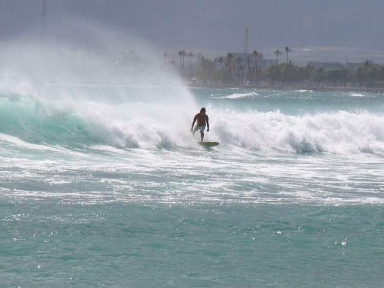серфинг на гавайях, оаху, гонолулу