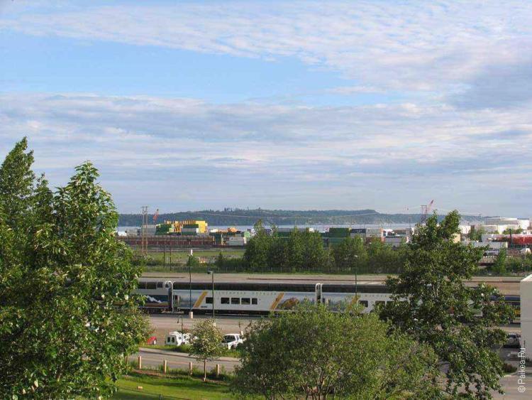 анкоридж, порт в городе анкоридж