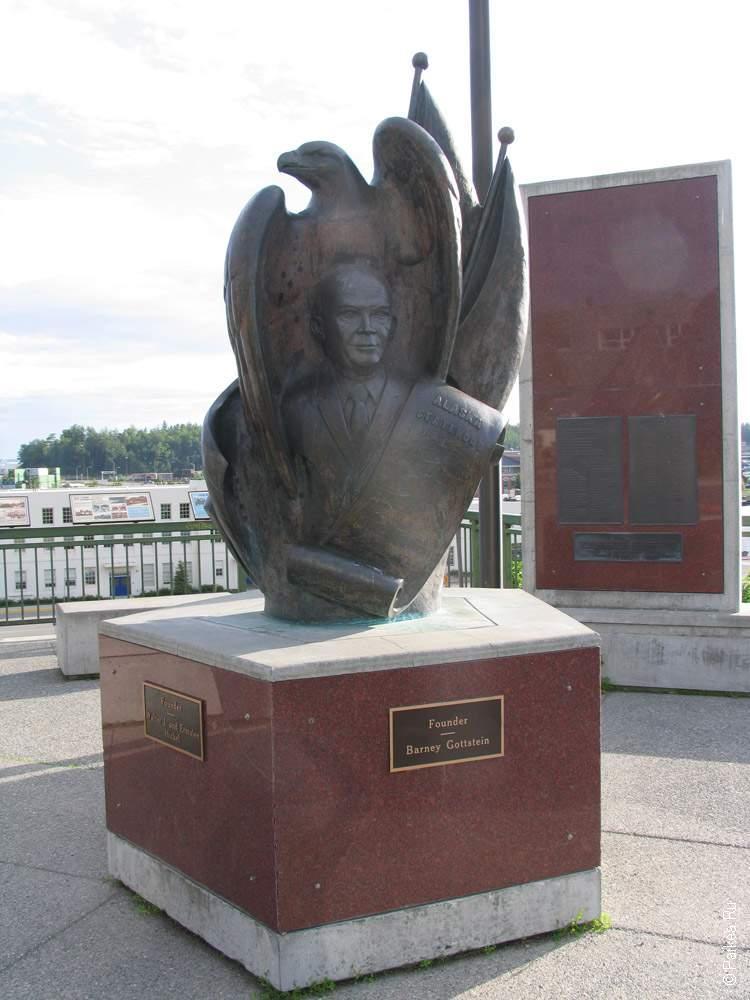 анкоридж, barney gottstein monument