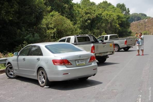 Таиланд аренда автомобиля