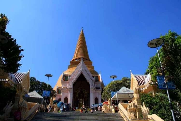 Вход к ступе Пхра Патом, Накхон Патом, Таиланд