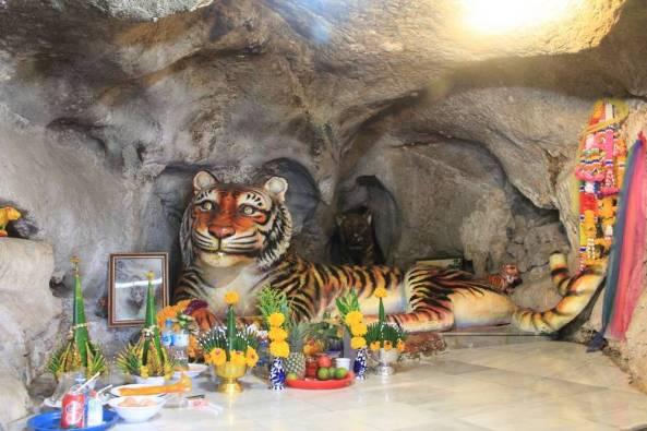 пещера тигра в таиланде