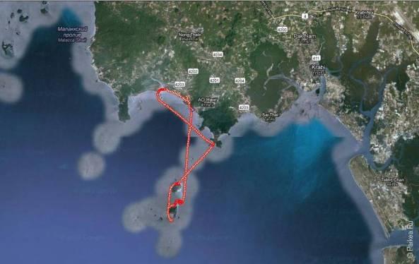 Трек экскурсии 4 острова