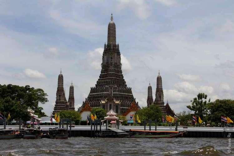 достопримечательности бангкока - ват арун