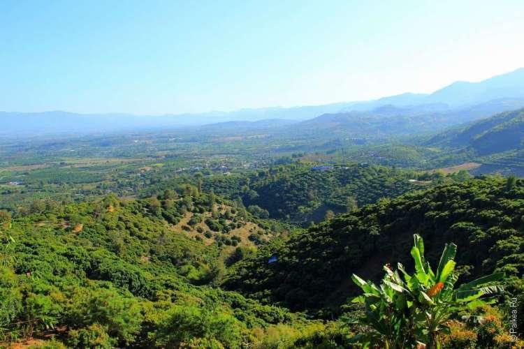 Северный Таиланд - вид с горы Doi Ang Khang