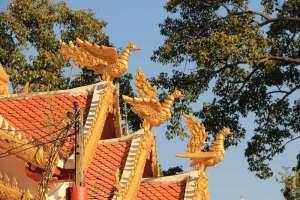 Элементы храма в Мае Сай Таиланд