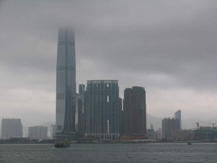 небоскреб гонконг
