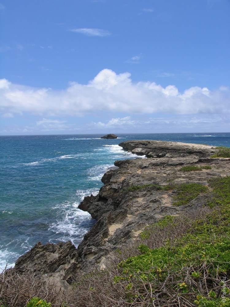 Оаху, Гавайи - Берег Тихого океана